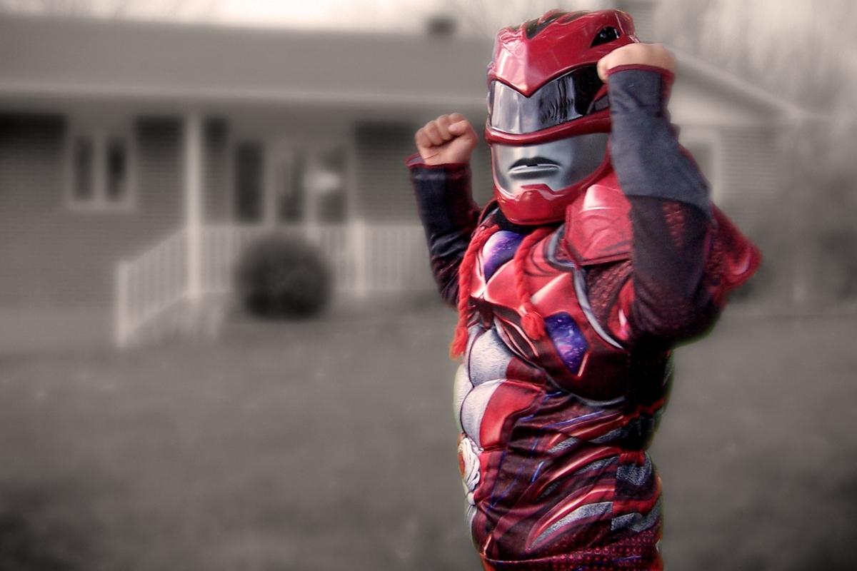 Théo, super-héros