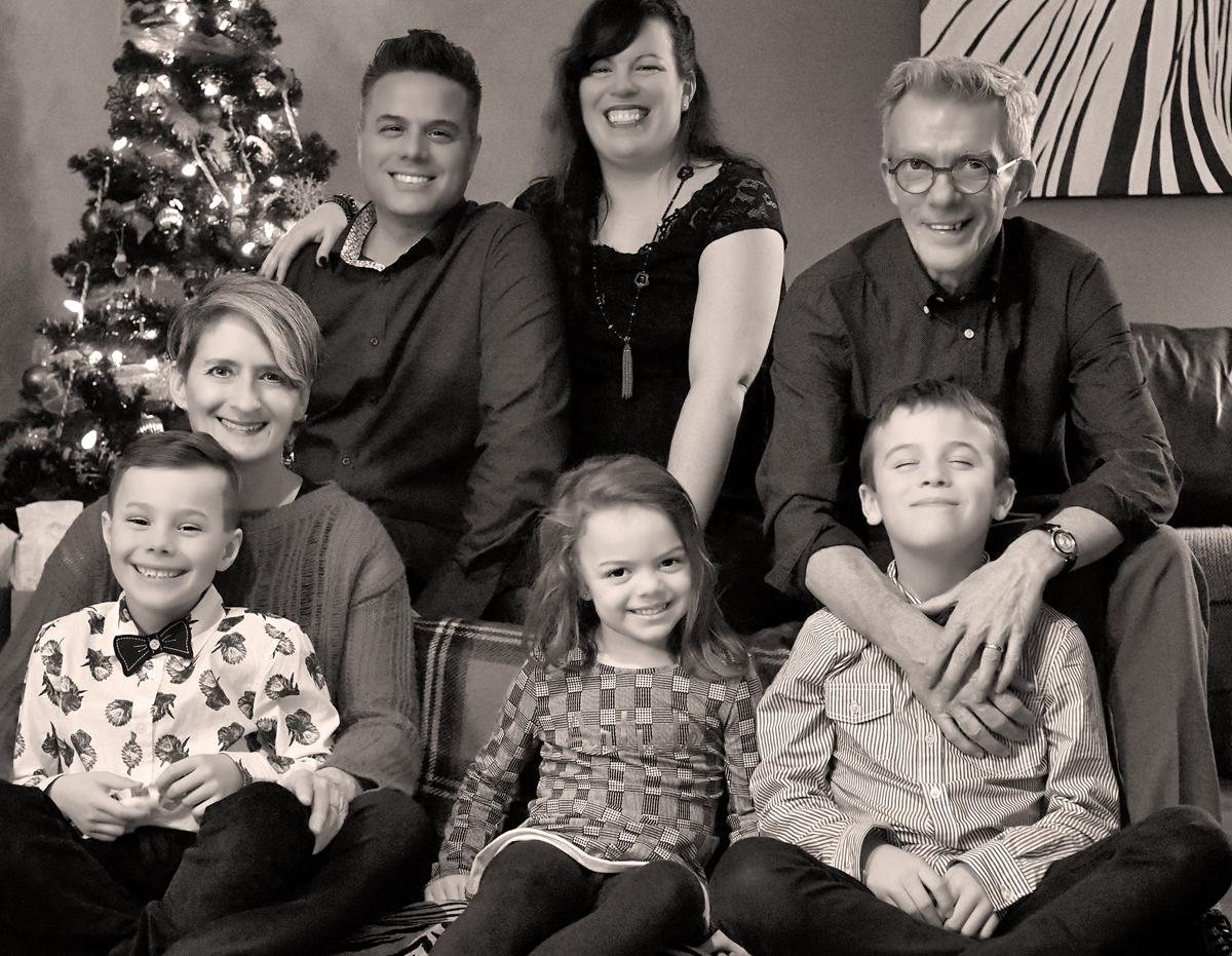 notre p'tite famille - noël 2018