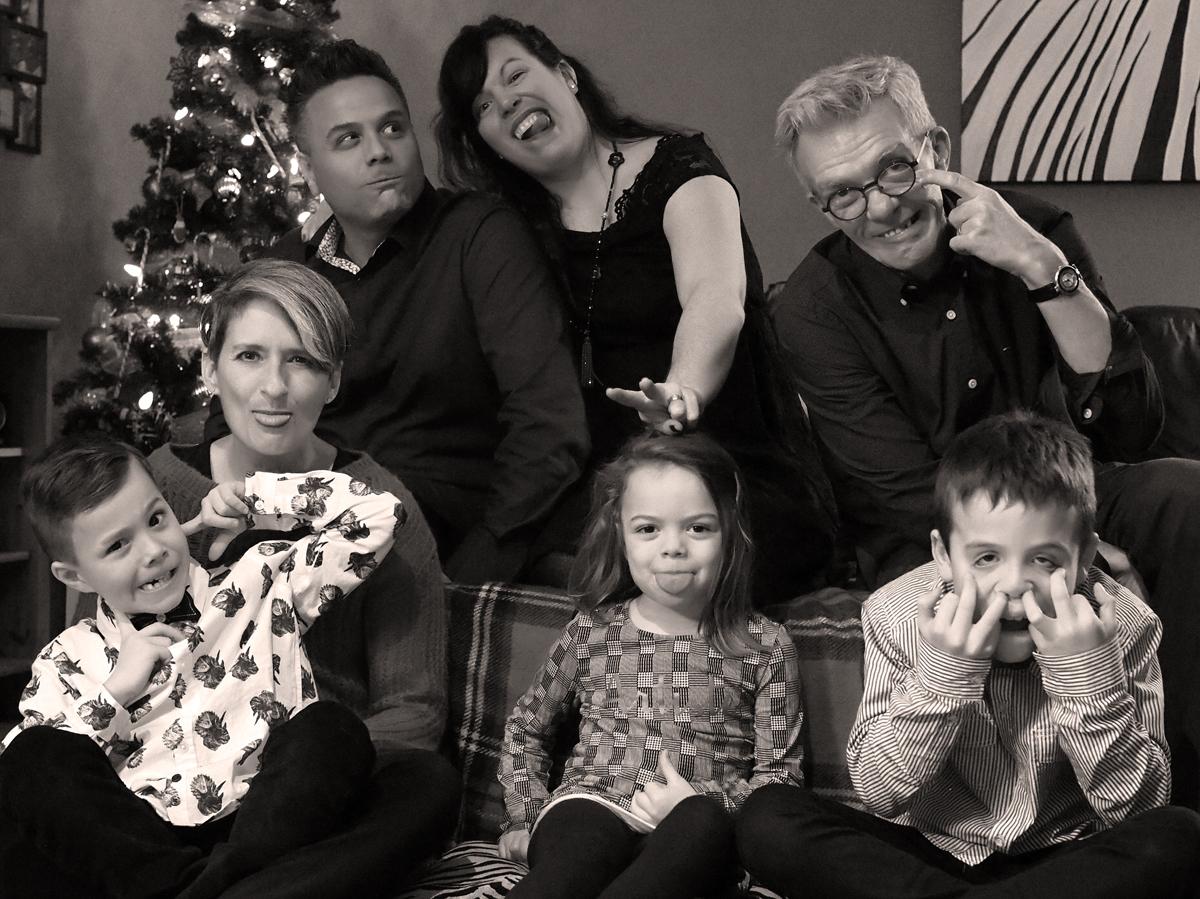 photos de famille - noël 2018