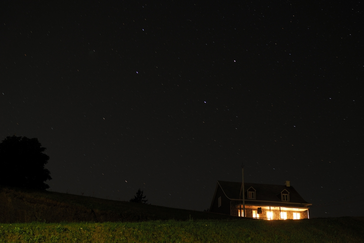 60 secondes sous les étoiles