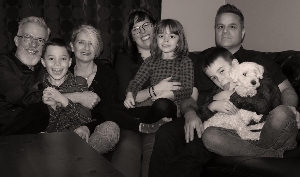 notre p'tite famille - noël 2019