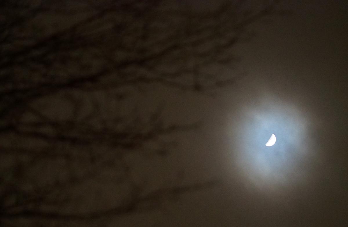 lune de février - february moon